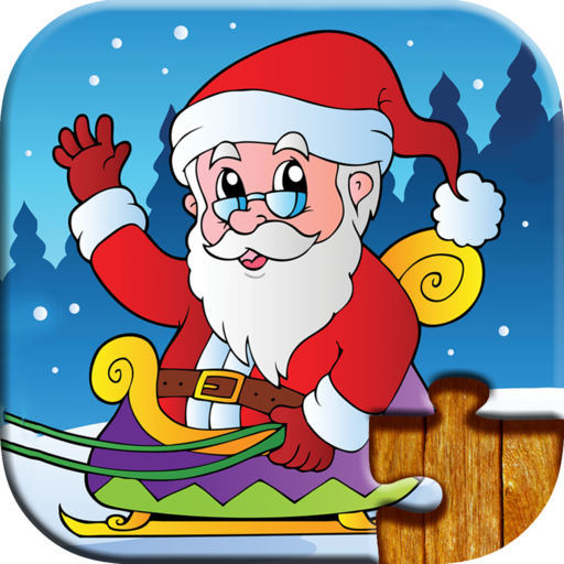 Christmas Games for Kids - Free Trial Edition - Fun and Educational Jigsaw Puzzle Game for Kids and Preschool Toddlers, Boys and Girls 2, 3, 4, or 5 Years Old