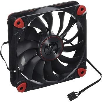 MSI Torx Fan 12 cm Fan for PC: Amazon co uk: Computers