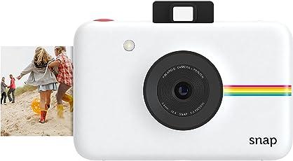 Polaroid Snap Fotocamera Digitale a scatto istantaneo con Tecnologia di Stampa a Zero Inchiostro ZINK, Bianco