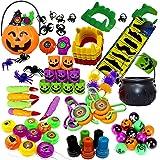 THE TWIDDLERS Set di 110 Giocattoli a Tema Halloween per Feste - Perfetti Come Borsa regalini, Feste di Compleanno, Festa Sac