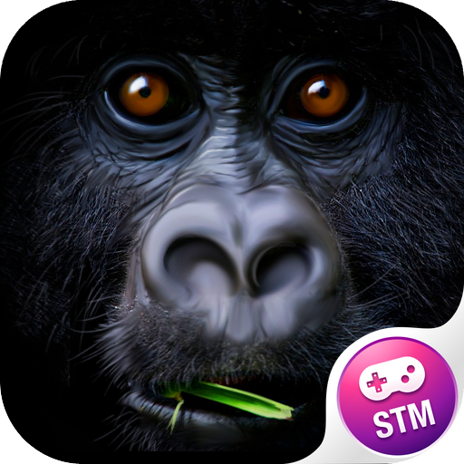 monkey-building-3d-free
