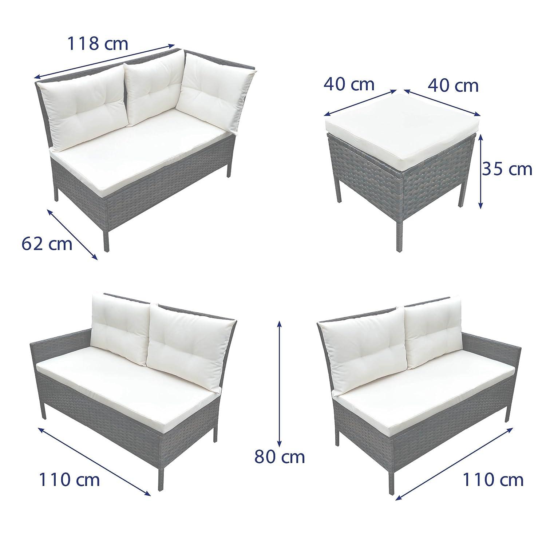 Neu Gartenmöbel Polyrattan Lounge Ideen