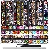 EBANKU 10-pack Design Butterfly Nail Art Stickers Vlinder Bloem Waterglijbaan Nail Art Decals Volledige Cover Tattoo Folies v