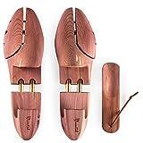 Blumtal Tendiscarpe Deluxe in Legno di Cedro Con Calzante, Allarga Scarpe Assorbe Umidità Combatte Odori, Forma Scarpe