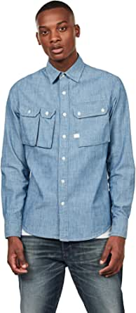 G-STAR RAW Men's Ospak Slim Casual Shirt