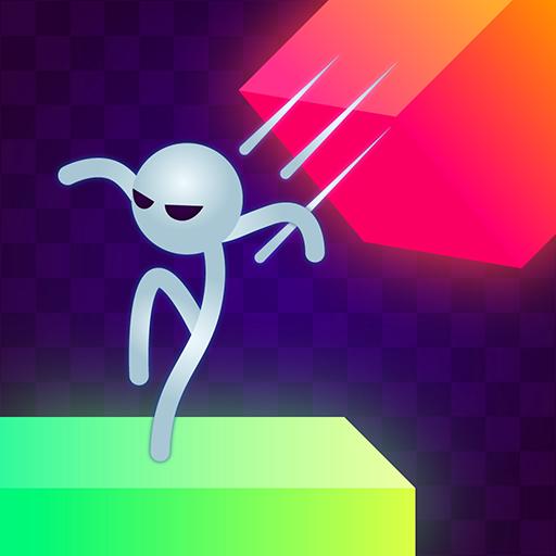 Light Jump - Stickman Up: Glow It Jumping Satisfying Game