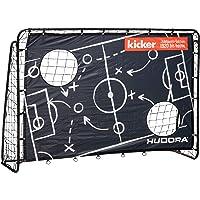 HUDORA Fußballtor Trainer mit Torwand | Kicker-Jubiläums & Standard Edition | Garten Fußball-Tor (213 x 152 x 76 cm) mit…