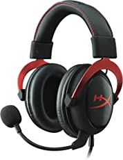 HyperX Cloud II Cuffie Gaming per PC/PS4/Mac/Mobile, Rosso (Ricondizionato Certificato)