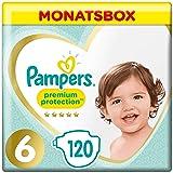 Pampers Premium Protection Größe6, 13+kg, 120 Windeln, Monatsbox