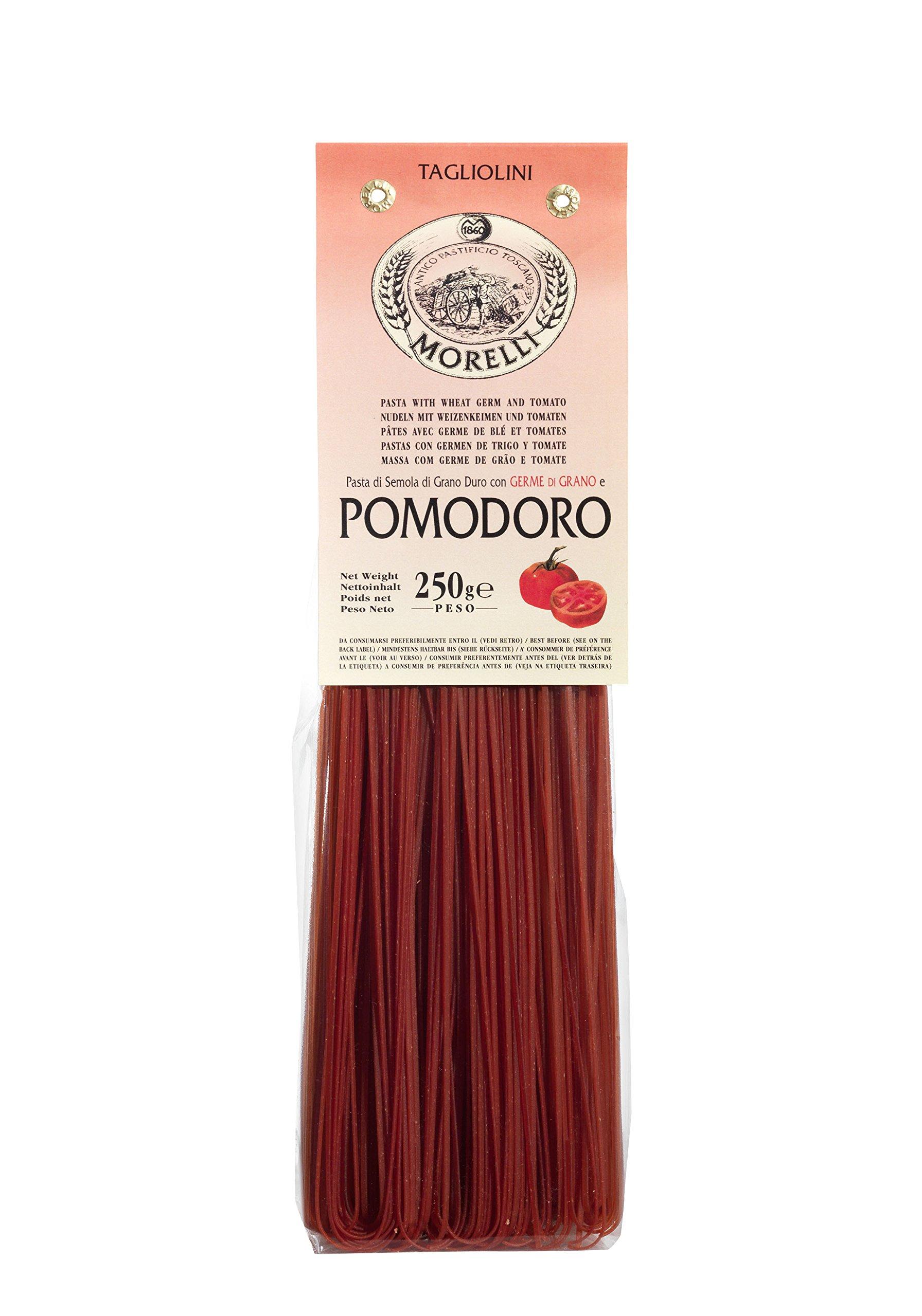 Antico Pastificio Toscano MORELLI - Tagliolini al Pomodoro - Pacco da 4 Confezioni (4 x 250gr)