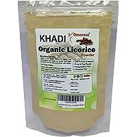 Khadi Omorose Licorice Powder (Mulethi) For Face And Skin-100 Grams