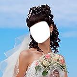 Hochzeits-Kleid-Foto-Montage