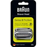 Braun Series 3 32S Electric Shaver Head Replacement Cassette - Silver (Packaging may vary )
