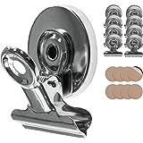 Tampen Magneten met klemmen · 8x magnetische klemmen · Magnetische clips incl. krasbescherming sticker · koelkastmagneten met