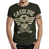 Gasoline Bandit Biker Camiseta Original Diseno Big-Size Print: Bandit Wing