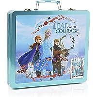 Frozen Valigetta Colori Per Bambini, Set Da Disegno Disney Con 60 Pezzi, Kit Per Disegnare E Dipingere, Regali Creativi…