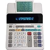 Sharp EL-1901 - Calcolatrice per stampa senza carta con display LCD principale a 12 cifre, funziona come calcolatrice di stam