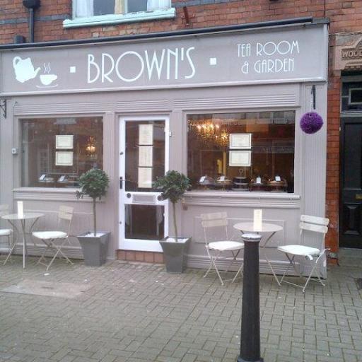 Browns Tea Room