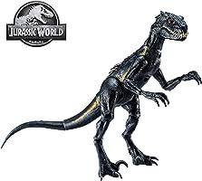 Jurassic World, Indoraptor Dinosauro, Protagonista del Film, Colore Grigio Scuro, 16.5 cm, Giocattolo per Bambini di 3 +...