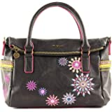 Desigual Loverty Hand Bag Azabache Loverty Hand Bag Marron Oscuro