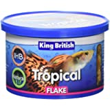 King British Tropical Fish Flake 55g