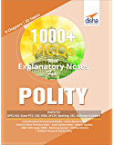 1000+ MCQs with Explanatory Notes For POLITY