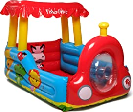 Fisher-Price Train Inflatable Ball Pit