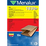 Menalux 1830 P - Bolsas de papel para aspiradoras Philips, Progress y Thomas (10 unidades)