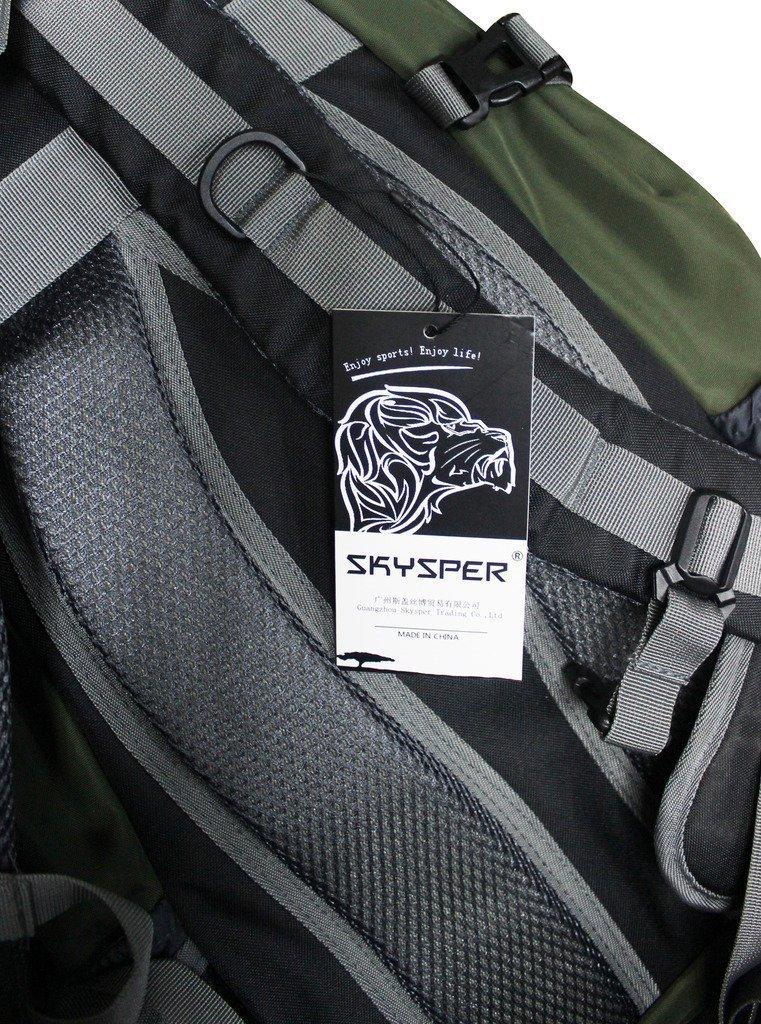 81zE6cnj6WL - SKYSPER 30L Mochila Multifuncional de Senderismo Trekking Mochila Nylon Impermeable Morral Que acampa Mochila Viaje al Aire Libre
