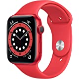 New AppleWatch Series 6 (GPS, 44mm) - Product(RED) - Aluminium Case with Product(RED) - Sport Band