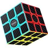 Gritin Cubo Magico, 3x3 Smooth Velocit Cubo Puzzle e Tornitura Facile, Super Resistente con Vivido Cubo Colorato per…