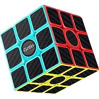 Cube Magique, Gritin 3x3x3 Speed cube de Vitesse Magique Lisse Facile à Tourner pour Jeu d'entraînement Cérébral ou…