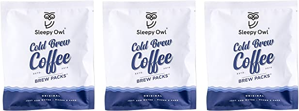 Sleepy Owl Coffee Brew Packs - Original (Pack of 3)