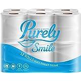 Blake & White Puur Smile 3laags zachte toiletrol | Pack van 12 | PS1125 | FSC gecertificeerd