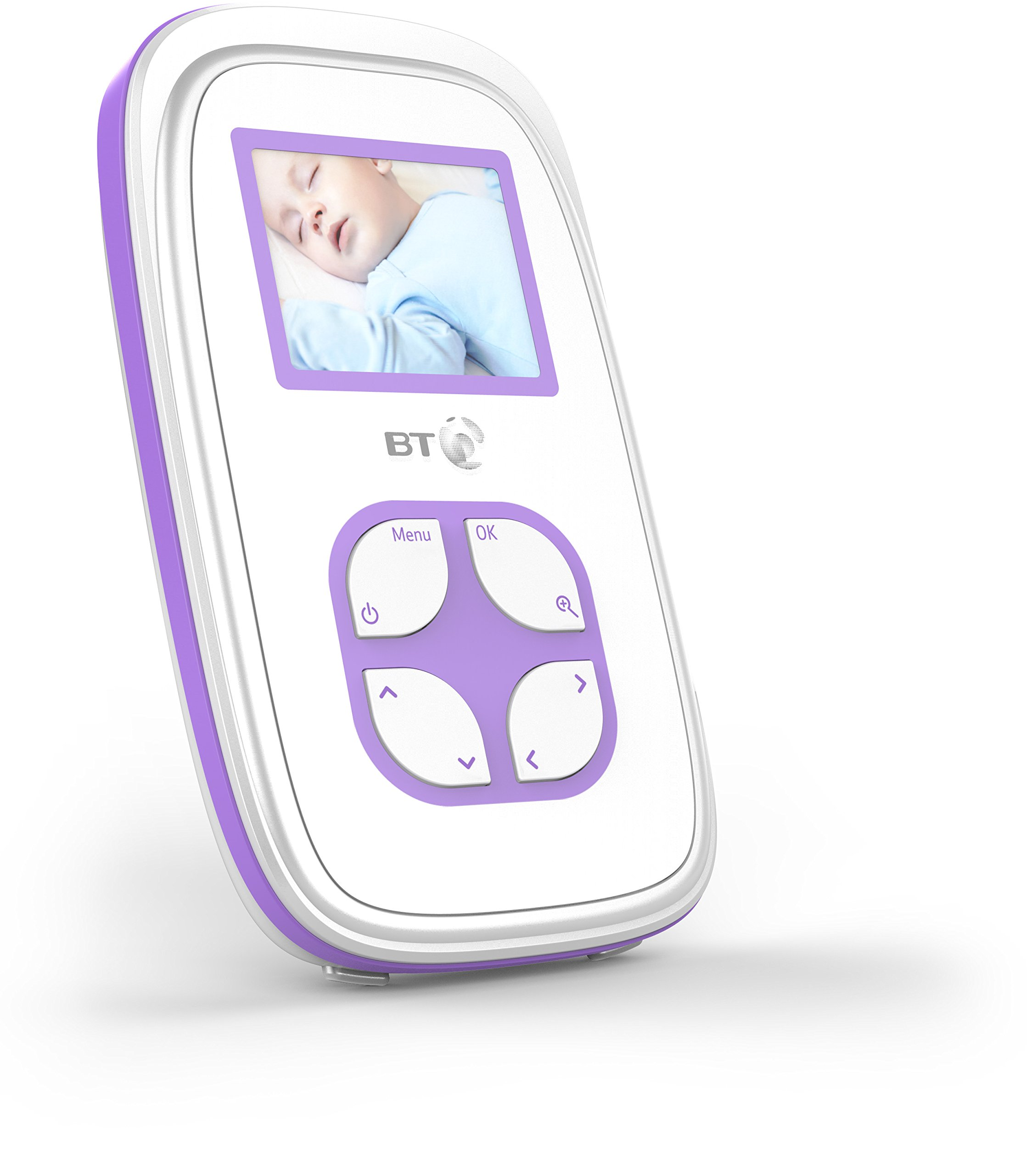 BT Video Baby Monitor 2000 BT 2 inch screen with night vision Manual (non-remote) pan/tilt mechanism Portable parent unit so you can move freely around your home 2