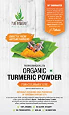 Pure by Nature-The spice from its Original Source –TURMERIC PODWER-ORGANIC for Culinary Use -Naturally with high percentage of Curcumin 6.7%, specially prepared by the artisan farmer, for better taste in culinary use from KERALA-INDIA. Our Turmeric is The Greatest In The World- Premium Quality.