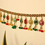 TIED RIBBONS Door Hanging Bandanwar Toran (96.5 cm X 12.5 cm) - Diwali Decoration Item for Home Door Wall Décor