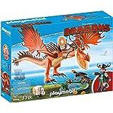 PLAYMOBIL 9459 - DreamWorks Dragons, Rotzbakke und Hakenzahn, Ab 4 Jahren