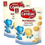 Nestle Cerelac NutribiscuitOriginal Bag, 180gm (Pack of 2)
