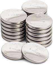 CR2032 3v Lithium Knopfzellen, 20 Stück Li-Mn Knopfbatterien CR 2032-3 Volt im 20-er Pack, Batterien einzeln entnehmbar (GP Batteries Markenprodukt)