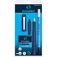 Schneider Ceod Shiny Set d'écriture avec stylo-plume, stylo roller et effaceur d'encre pour droitiers et gauchers Plume…