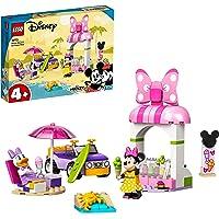 LEGO Disney Mickey and Friends La Gelateria di Minnie, Giocattoli Costruibili per Bambini di 4 Anni con Macchina e 2…