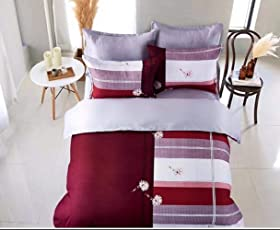 Fitted Bedsheet King Size (3 Pcs Set 1 Engage King Fitted Double Bedsheet  With 2