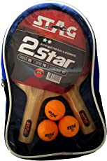 Stag 2 Star Table Tennis Kit