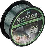 Specitec Schnur- Angelschnur monofil - Zielfischschnur für Aal - Barsch - Forelle - Hecht - Zander - Karpfen - Dorsch - Weissfisch