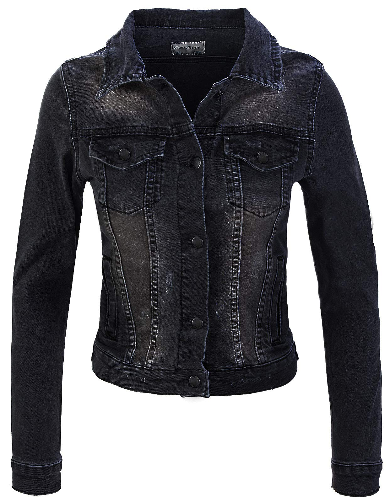 ROCK CREEK DAMEN JEANSJACKE D-401