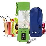 Gianei mini Mixeur Portable USB - Mini melangeur cuisine multifonctionnel, mélangeur à smoothie pour smoothies aux fruits et