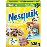 نستله نسكويك كرات الحبوب الكاملة بطعم الشوكولاتة الحليب و الشوكولاتة البيضاء، 335 جرام
