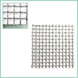 The Mesh Company's Stainless Steel Woven Wire Mesh - 150mm Square Samples - Over 60 Sizes (2 LPI/10MM Hole/2MM Wire)