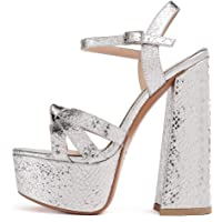 Mettesally Sandali Moda Donna,Scarpe Donna,Tacco a Blocco Scarpe,Sandali Platform Donna